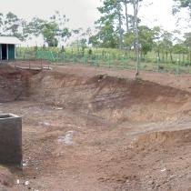 Obras de relleno sanitario para la deposición de basura en El Castillo (proyecto Araucaria)
