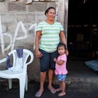 """Zenayda es tesorera del CAPS de El Capulín en el municipio de EL Viejo (Chinandega). Además forma parte de la red municipal de CAPS y es promotora de género: """"Cuando me eligieron como jefa de cuadrilla me sentí orgullosa. Me conocen y saben cómo trabajo. Me he ganado el respeto""""."""