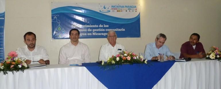 """""""INICIATIVA PARAGUA"""": Un año de la gestión para llevar agua potable y saneamiento en Nicaragua"""