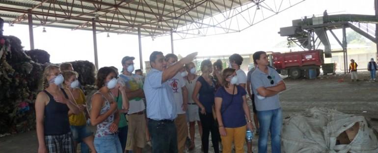 Cooperantes alemanes visitan Proyecto de Desarrollo Integral del Barrio Acahualinca