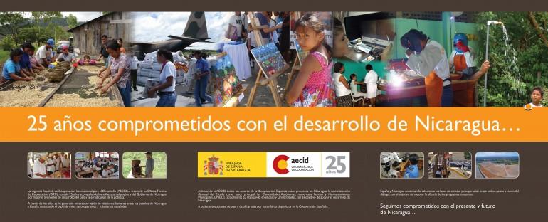 AECID: 25 años comprometidos con el desarrollo de Nicaragua