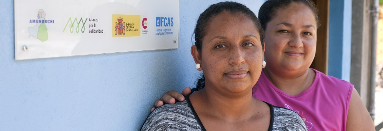 """Lorena, que acompaña en esta foto a Marisela, es fiscal del CAPS de Vado Ancho: """"Estamos dando un ejemplo para que otras mujeres asuman cargos de peso"""""""