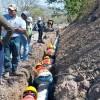 Avanzan las obras de agua potable y saneamiento en Acoyapa y Santo Tomás