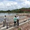 Delegación de la Unión Europea visita las obras de agua potable y alcantarillado sanitario del PISASH en Santo Tomás y Acoyapa