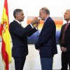 INCH otorga condecoración Darío-Cervantes a Rafael Garranzo, Embajador de España