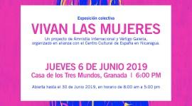 """CCEN inaugura Exposición """"Vivan las mujeres"""" en Granada"""