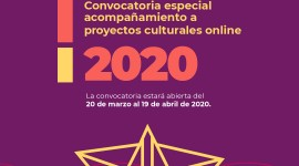 CCEN abre convocatoria especial de acompañamiento a proyectos culturales online