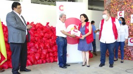 España solidaria con Nicaragua entrega ayuda de emergencia para los damnificados por el Huracán ETA