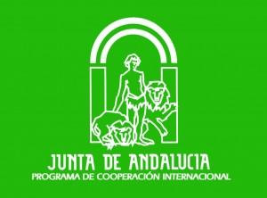 Logo fondo verde
