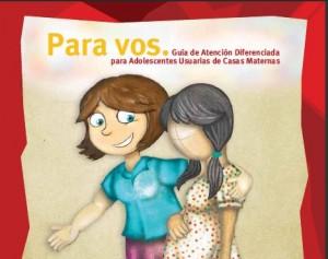 Guía Atención Diferenciada para Adolescentes Usuarias de Casas Maternas