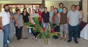 Representantes de ONGD´s que trabajan en la Iniciativa Paragua