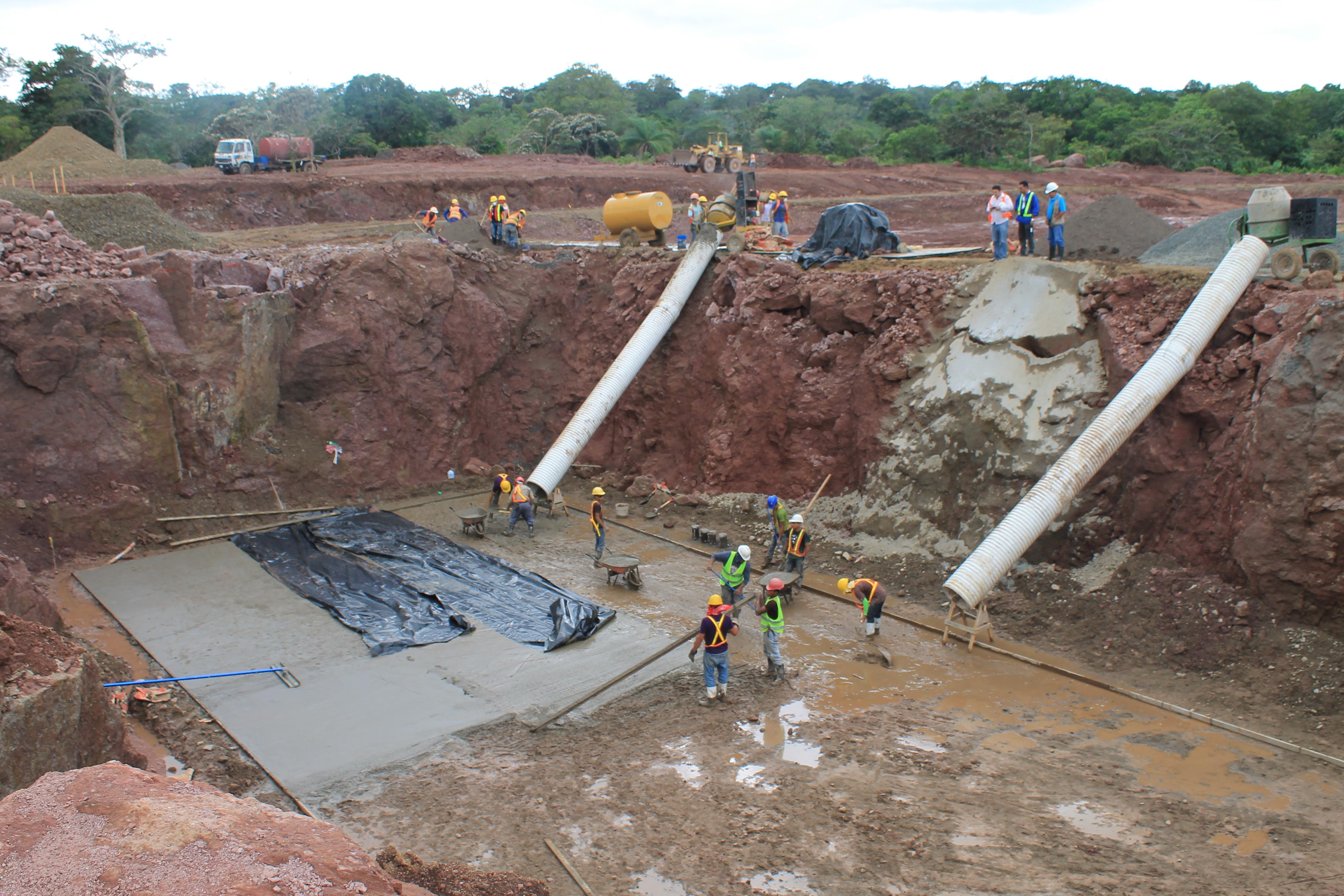 Construcción de planta de tratamiento - Santo Tomas. PISASH (2)