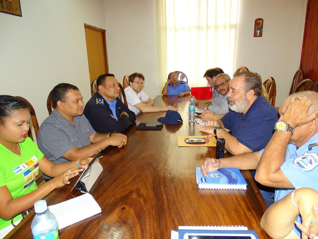 Reunión con el Coordinador de Gobierno de la RACCN