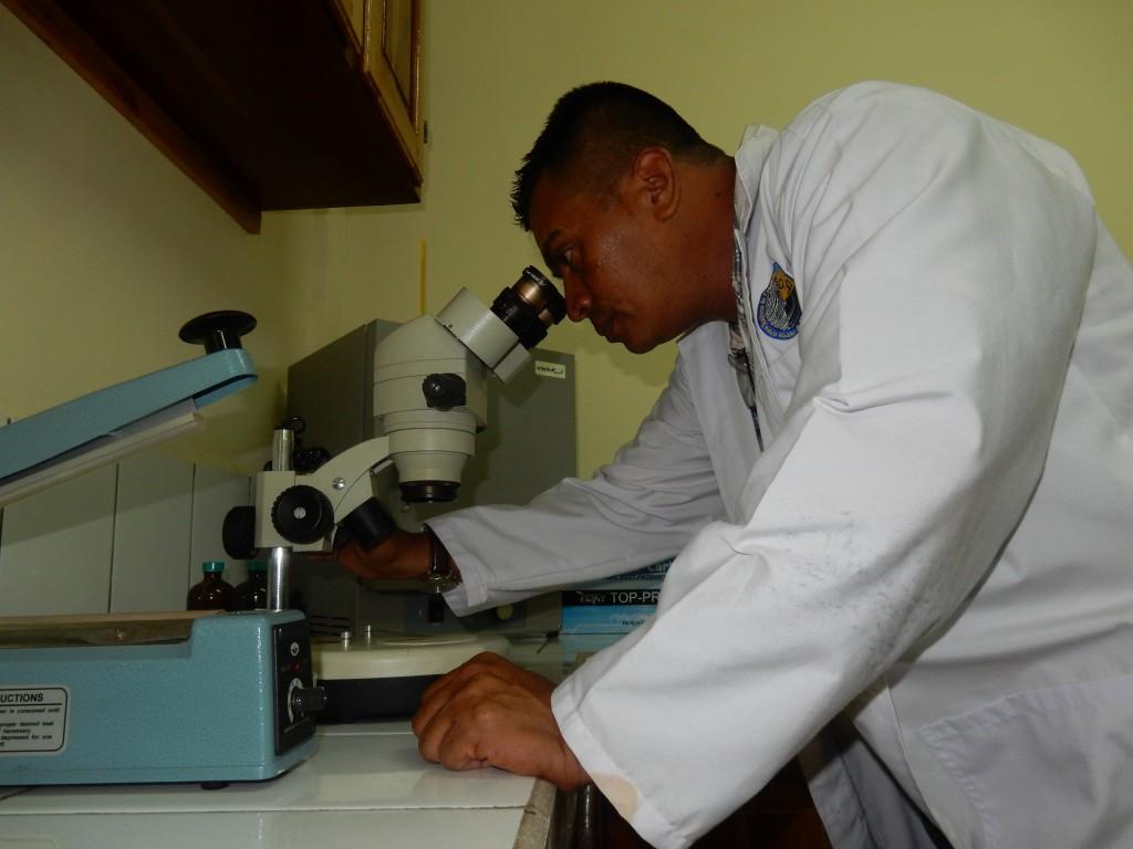 Moderno Laboratorio de Criminalística de Bilwi RACCN